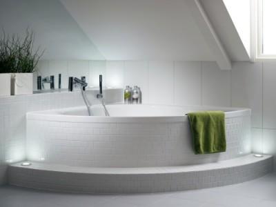 Rohové vany rozměry