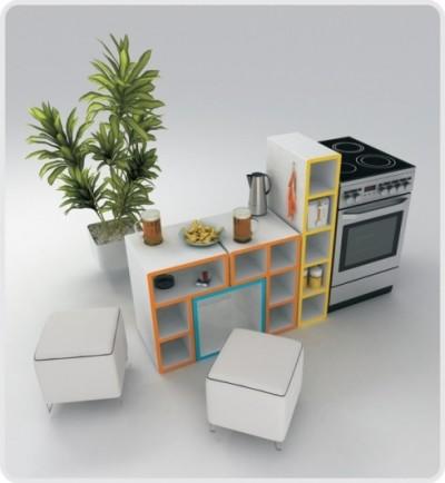 Tetris nábytek