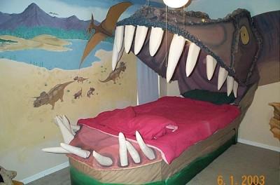 Dětský pokoj à la Jurský park: Netradiční pojetí dětské ...