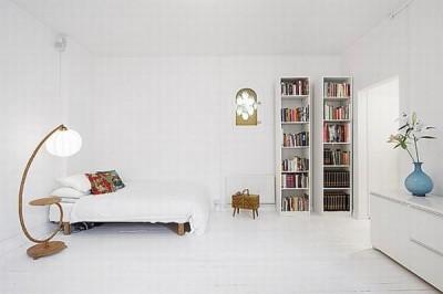 Jak se bydlí v bílé bílý interiér http www homemag cz