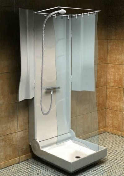 Skládací sprchový kout