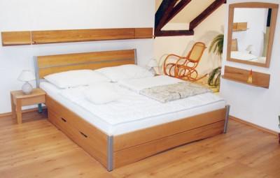 Postele s úložným prostorem: Co dominuje? (http://www.homemag.cz)