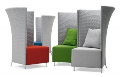 Elegantní židle XXL: Soukromí v podání Montis